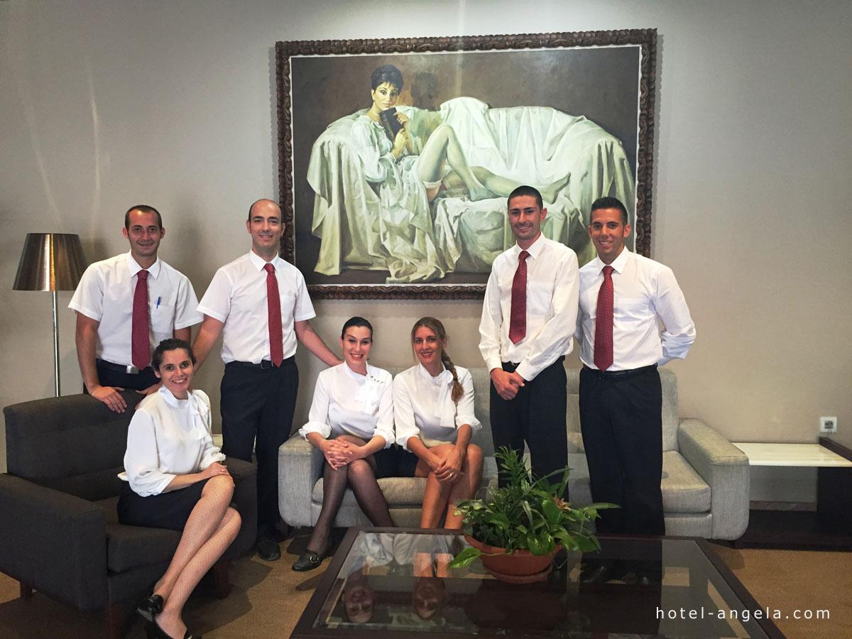 equipo-hotel-fuengirola-hotelangela
