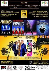 Festival de Tributos en Mijas - Hotel Angela Fuengirola