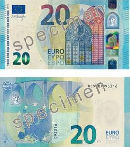 Nuevo billete de 20 euros - Hotel Angela Fuengirola