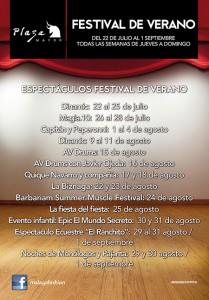 Festival de Verano en Plaza Mayor - Hotel Ángela Fuengirola