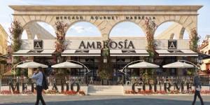 Mercado Gourmet en Puerto Banús - Hotel Angela Fuengirola